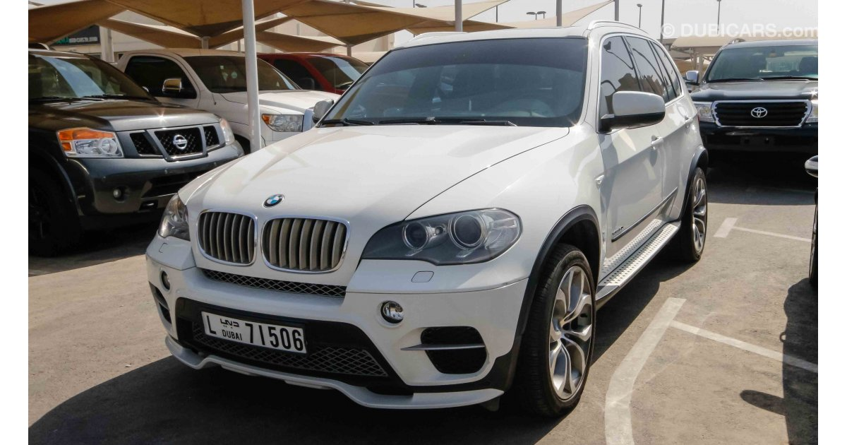 bmw x5 xdrive 50i for sale aed 48 000 white 2011. Black Bedroom Furniture Sets. Home Design Ideas