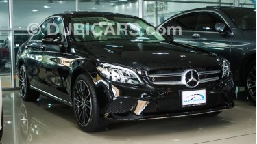 Mercedes-Benz C 200 2019 AMG Sedan, GCC, 0km with 2 Years Unlimited Mileage  Warranty from Dealer (SUMMER OFFER)