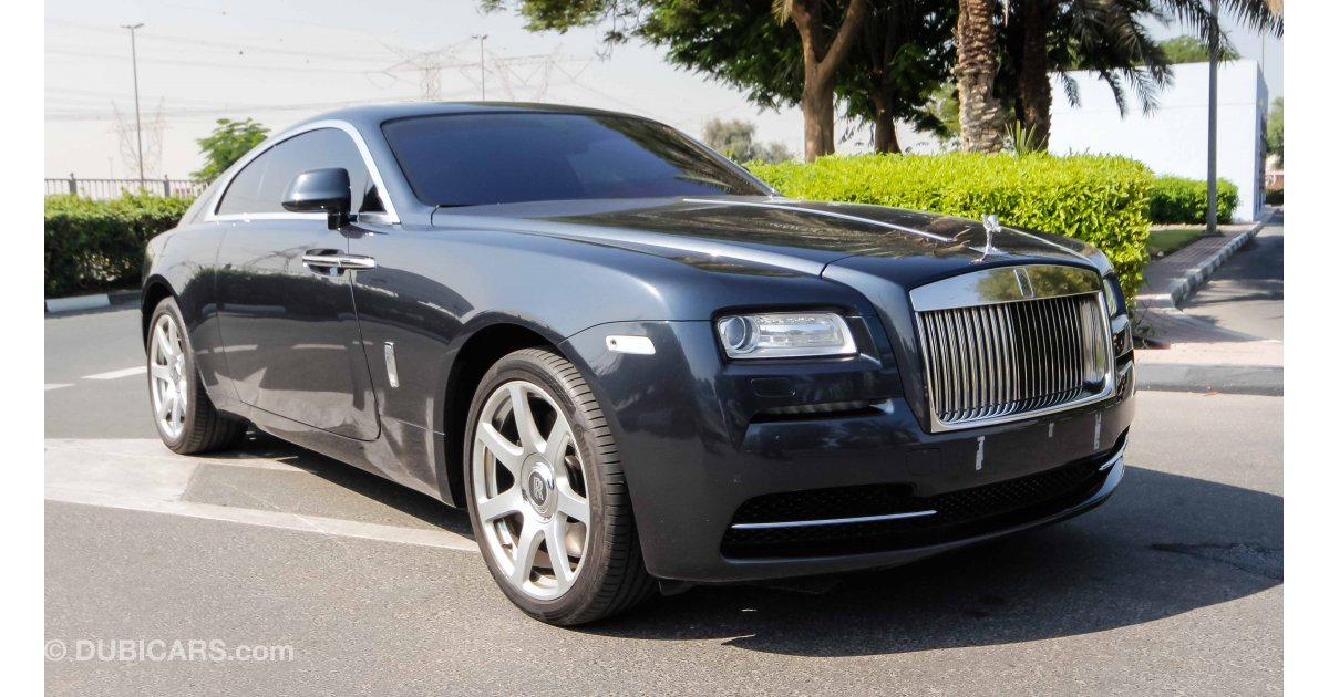 rolls royce wraith for sale aed 550 000 grey silver 2014. Black Bedroom Furniture Sets. Home Design Ideas