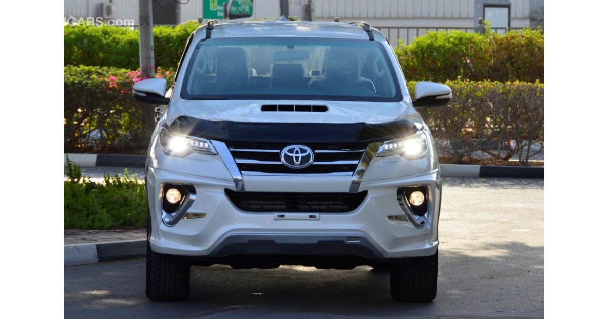 Toyota Fortuner 3 0l Diesel 4wd Automatic Transmission For Sale White 2017
