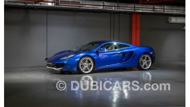 mclaren mp4-12c - under warranty for sale: aed 269,000. blue, 2012