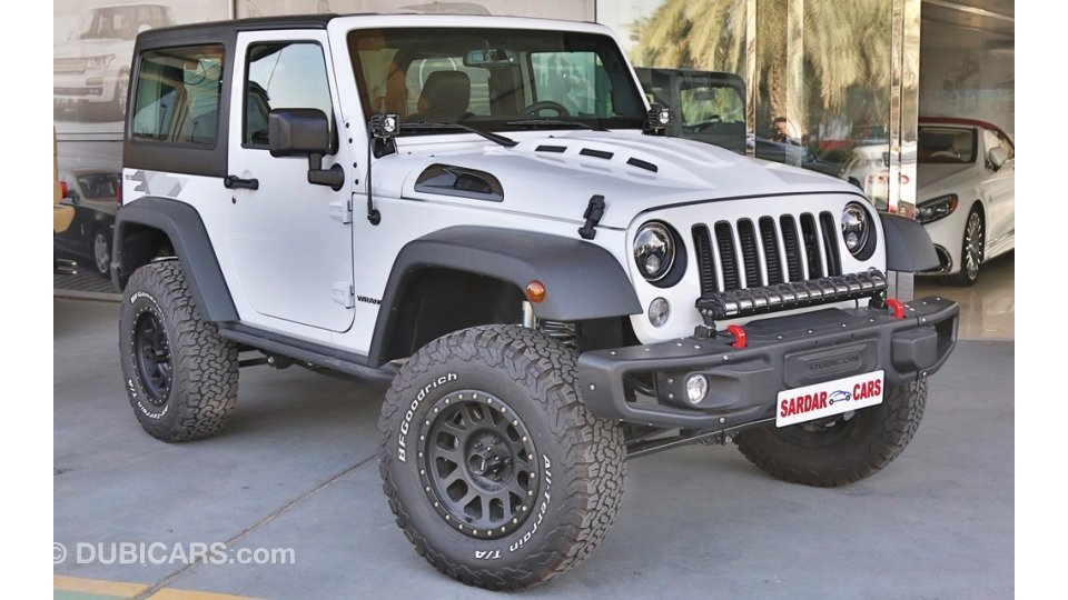 jeep wrangler night eagle gcc specs 5 year warranty service for sale aed 154 000 white 2017. Black Bedroom Furniture Sets. Home Design Ideas