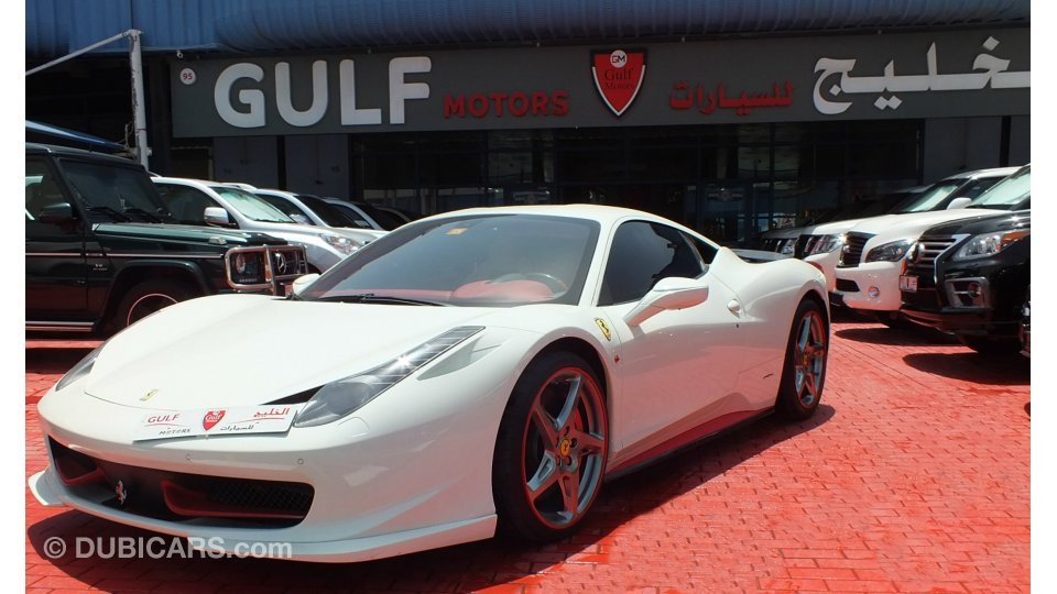 ferrari 458 for sale dubai html with 2010 Ferrari 458 Italia 100508 on Grigio Medio Laferrari Gets Vossen 1 Of 1 Forged Wheels Video Photo Gallery 101234 besides 2013 Ferrari 458 Spider Very Low Mileage 182586 furthermore 2014 Ferrari 458 Speciale Gcc Specs Warranty Valid Until 042018 123798 in addition 2013 Ferrari 458 Italia 41892 further 2015 Ferrari Laferrari 178479.