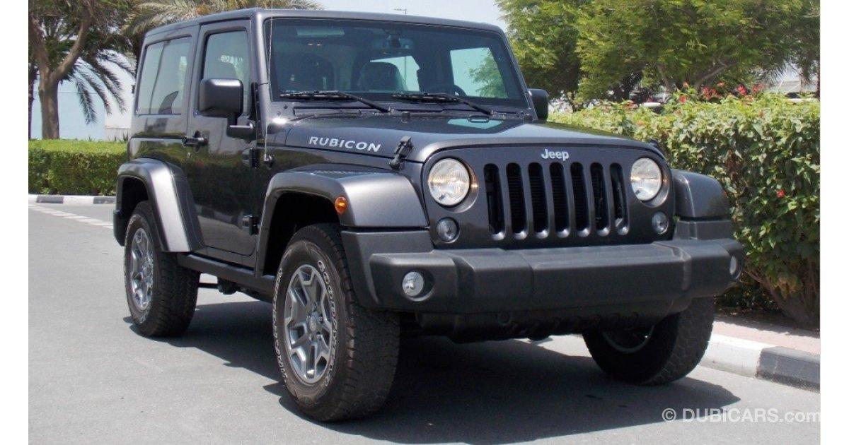 Jeep Wrangler Brand New 2016 Rubicon 3 6l V6 Gcc Dss Offer