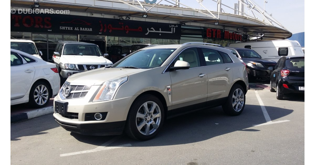 cadillac srx 3 6 for sale aed 55 000 gold 2012. Black Bedroom Furniture Sets. Home Design Ideas