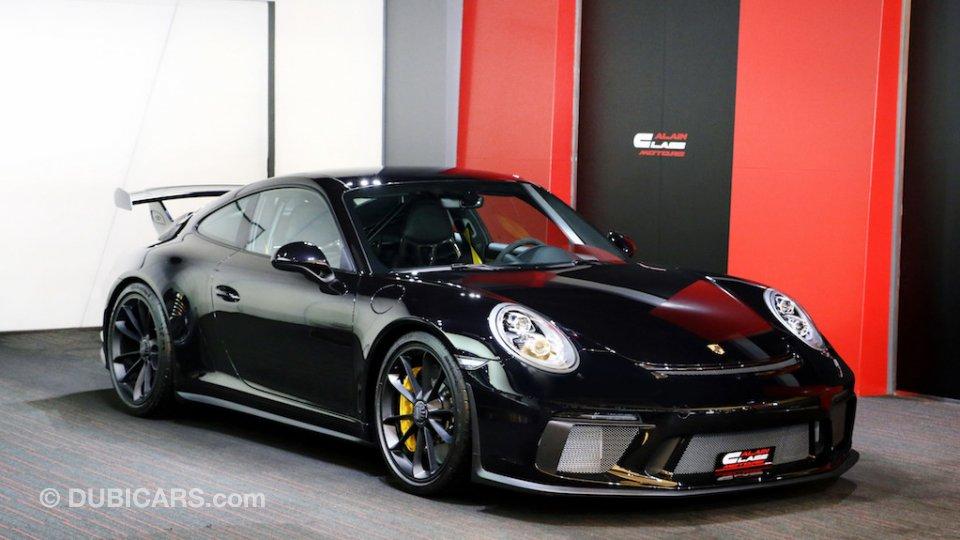 Porsche 911 Gt3 2018 For Sale Aed 690 000 Black 2018