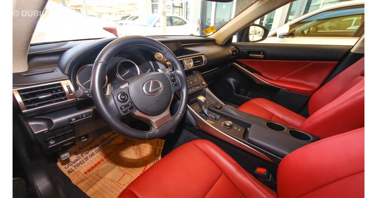 Pre Owned Lexus >> Lexus IS 300 F Sport for sale: AED 110,000. Black, 2016