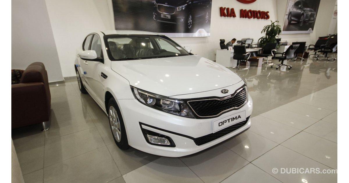 Kia optima 2 0 for sale aed 62 000 white 2015 for Kia gunther motor co
