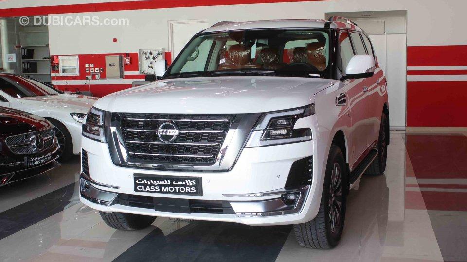 Nissan Patrol Titanium LE for sale: AED 299,000. White, 2020