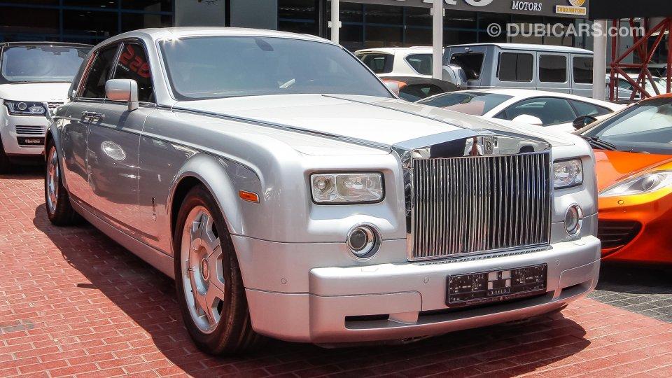 Rolls Royce Phantom For Sale Aed 400 000 Grey Silver 2004