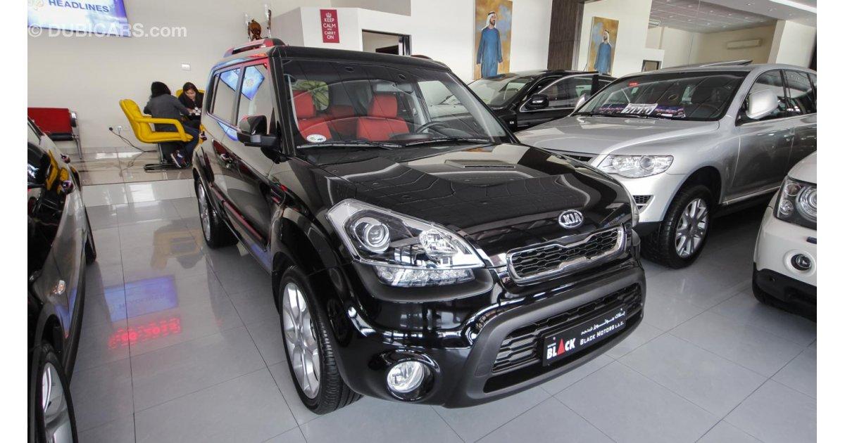Kia Soul for sale AED 49 500 Black 2014