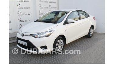 Toyota Yaris 1 5l Sedan 2015 Model For Sale Aed 31 900 White 2015