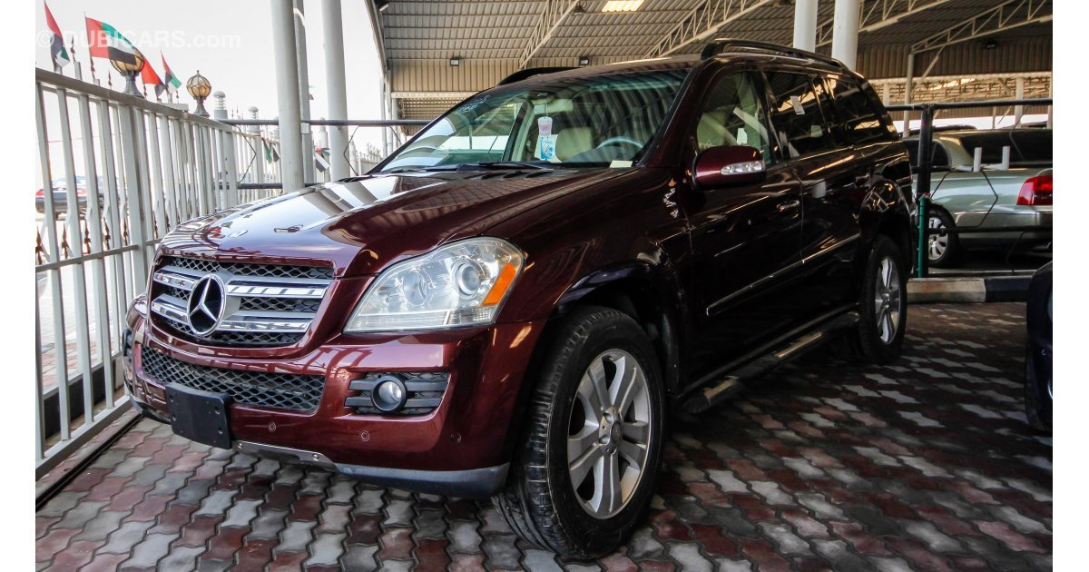 Mercedes benz gl 450 4matic for sale aed 59 000 burgundy for Mercedes benz roof box 450 dimensions