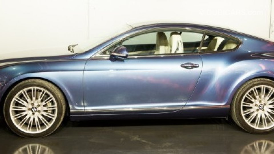 Bentley Continental Gt Speed For Sale Aed 265 000 Blue 2010