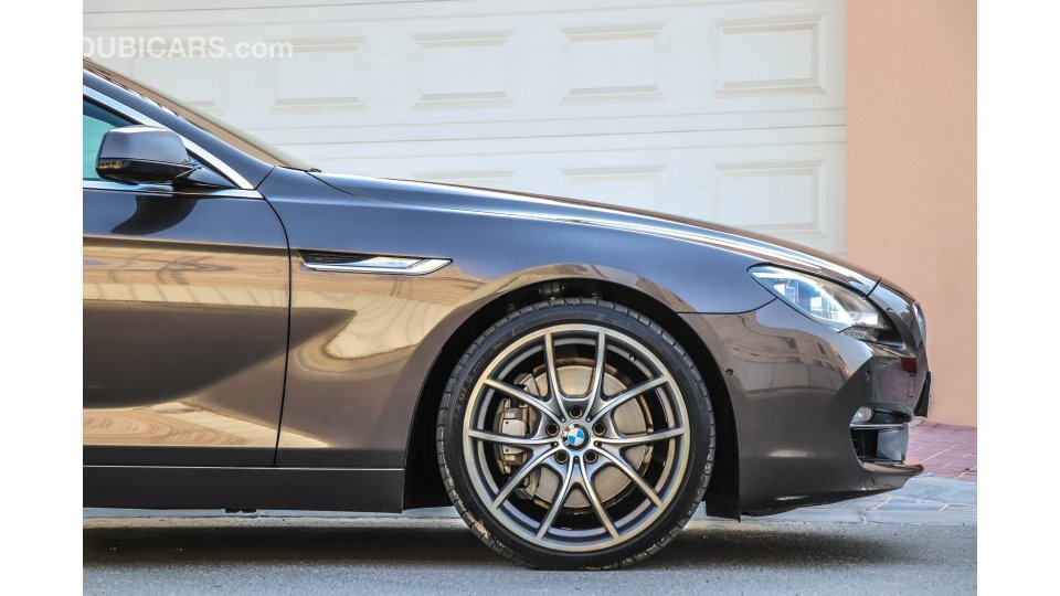 Bmw 650 I Gran Coupe M Sport Service And Warranty Till