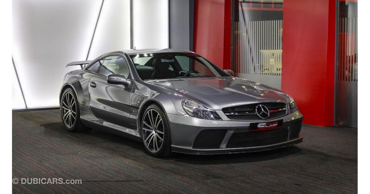 Mercedes benz sl 65 amg black series for sale grey silver for Mercedes benz sls black series for sale
