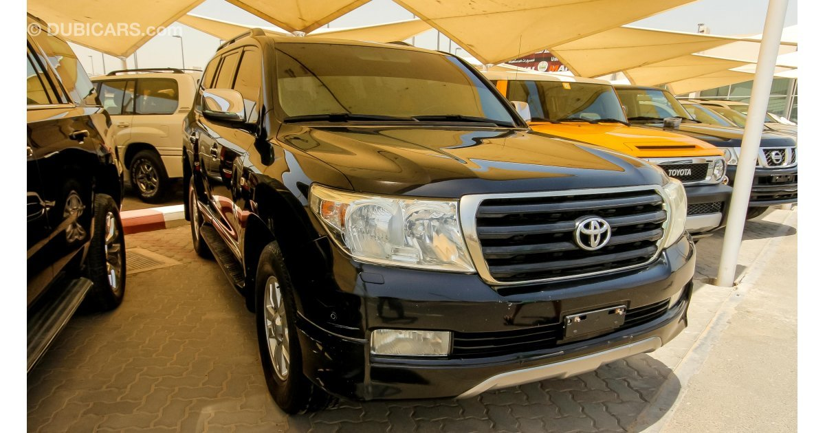 toyota land cruiser gx r v8 for sale aed 77 000 black 2009