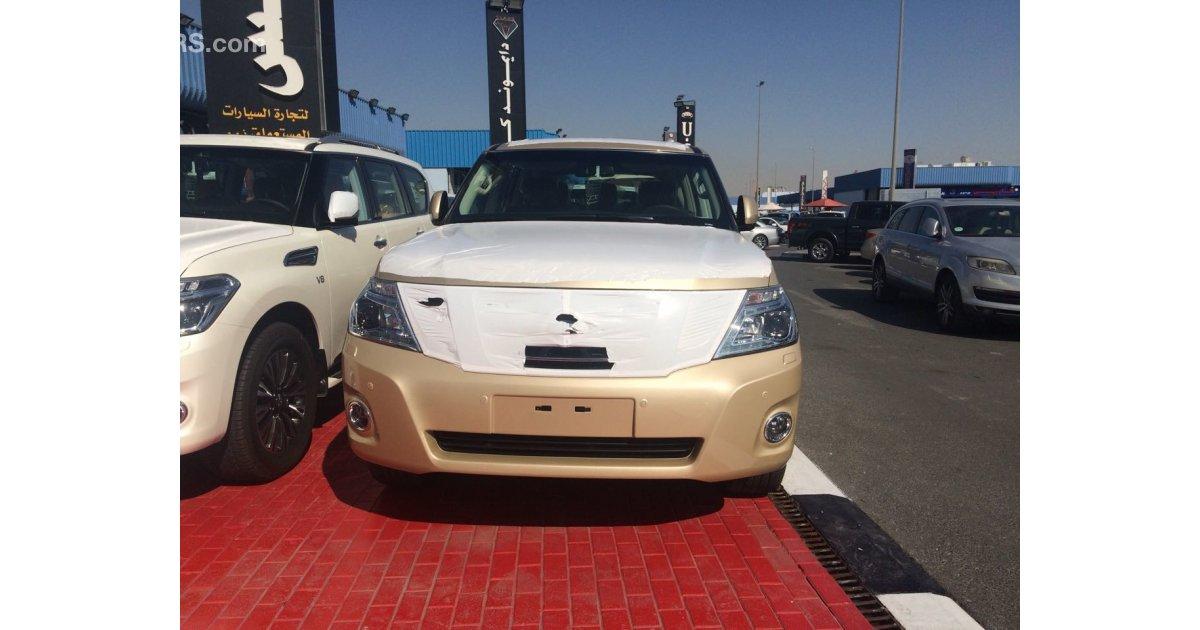 Nissan patrol le titanium for sale aed 225 000 beige 2017 Auto max motors