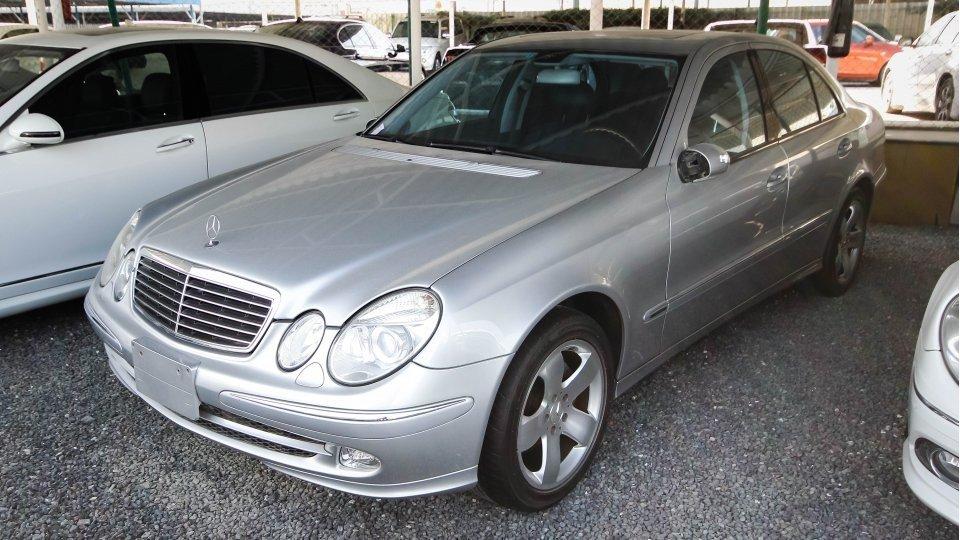 Mercedes Benz E 500 E500 2004 Silver Import Japan For Sale