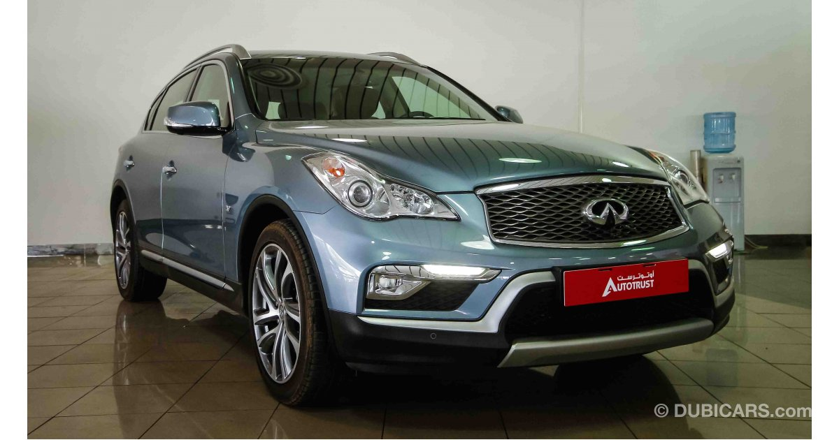 Infiniti Qx50 For Sale Aed 119 900 Blue 2016