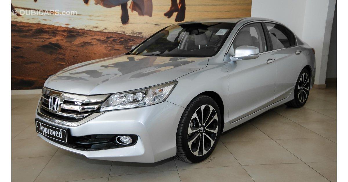Honda accord 3 5 v6 sport for sale aed 104 999 grey for Grey honda accord