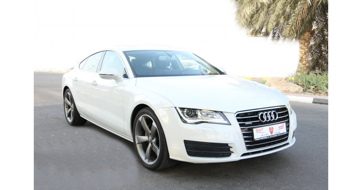 audi a7 quattro for sale aed 115 000 white 2015. Black Bedroom Furniture Sets. Home Design Ideas
