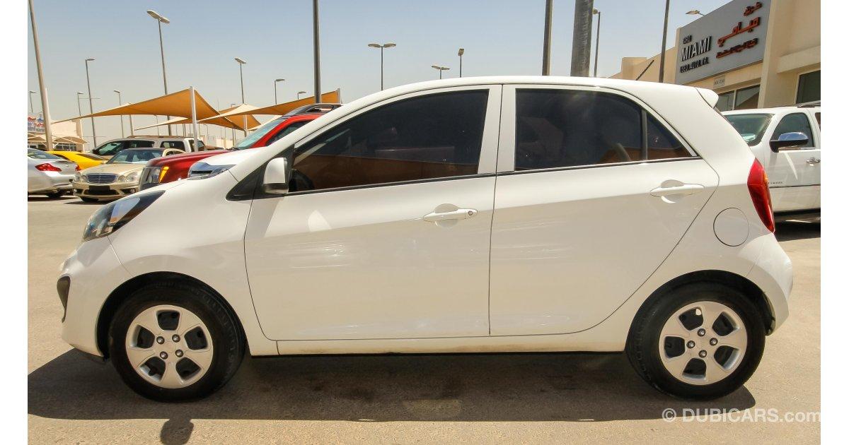 Kia Picanto For Sale Aed 17 000 White 2014