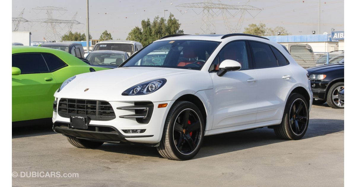 porsche macan turbo warranty 2018 for sale aed 299 000 white 2015. Black Bedroom Furniture Sets. Home Design Ideas