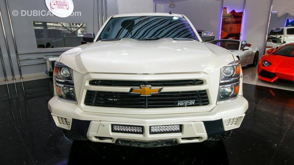 Chevrolet Silverado Reaper for sale: AED 165,000. White, 2014