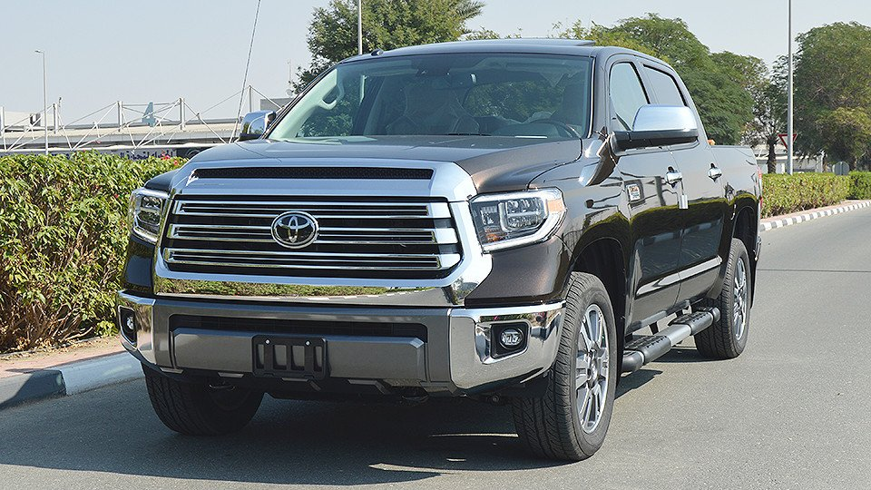 toyota tundra 1794 special edition 4x4 v8 radar for sale aed 217 999 brown 2018. Black Bedroom Furniture Sets. Home Design Ideas