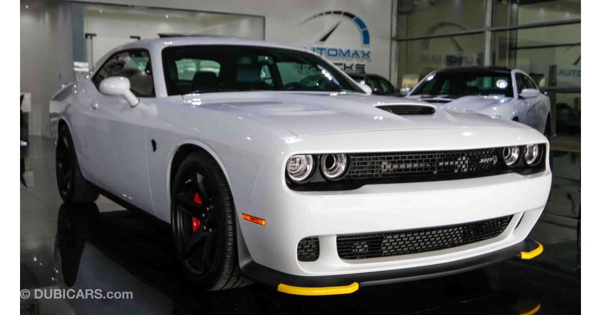 Dodge Challenger SRT Hellcat V8 for sale: AED 314,999 ...