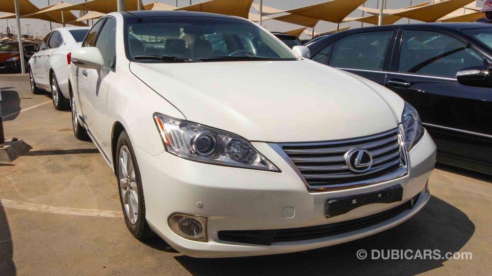Lexus ES 350 For Sale AED 39000 White 2012