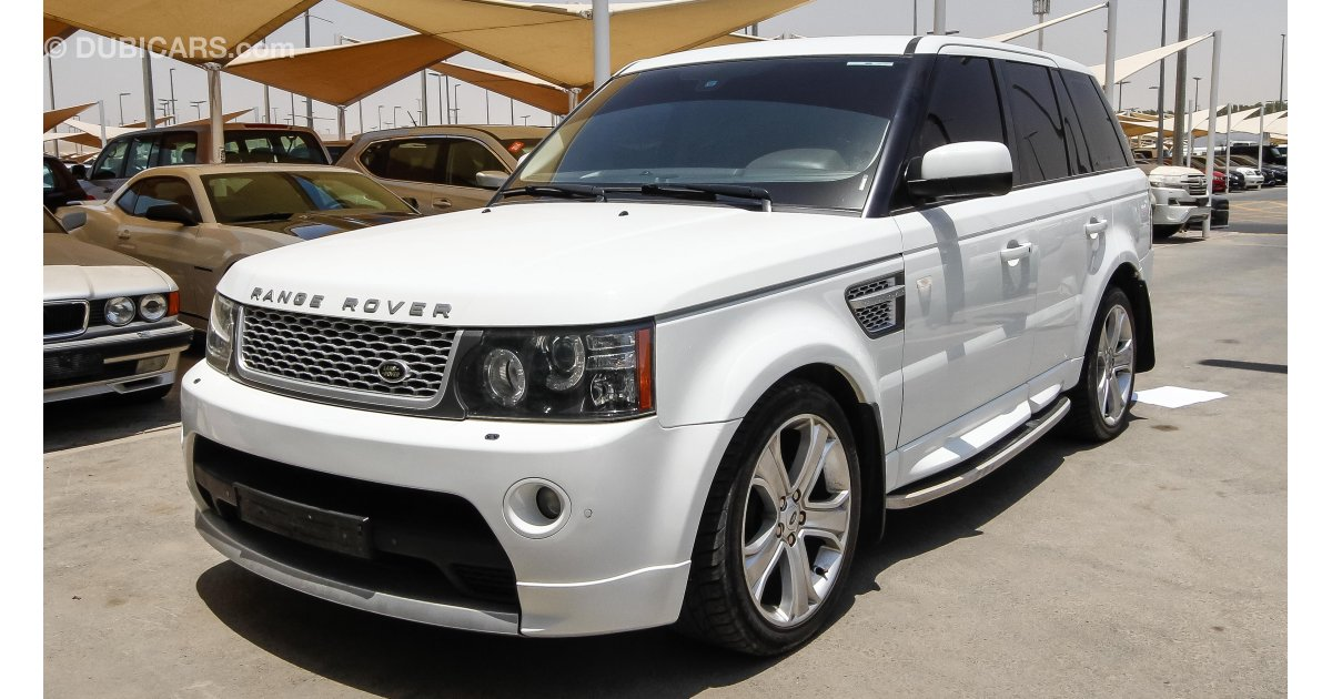 land rover range rover sport supercharged for sale white. Black Bedroom Furniture Sets. Home Design Ideas