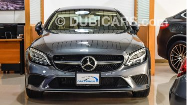 Mercedes-Benz C 200 Coupe 2019 AMG, GCC , 0km with 2 Years