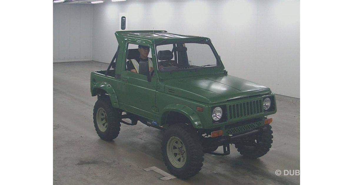 Suzuki Jimny Japan Auction