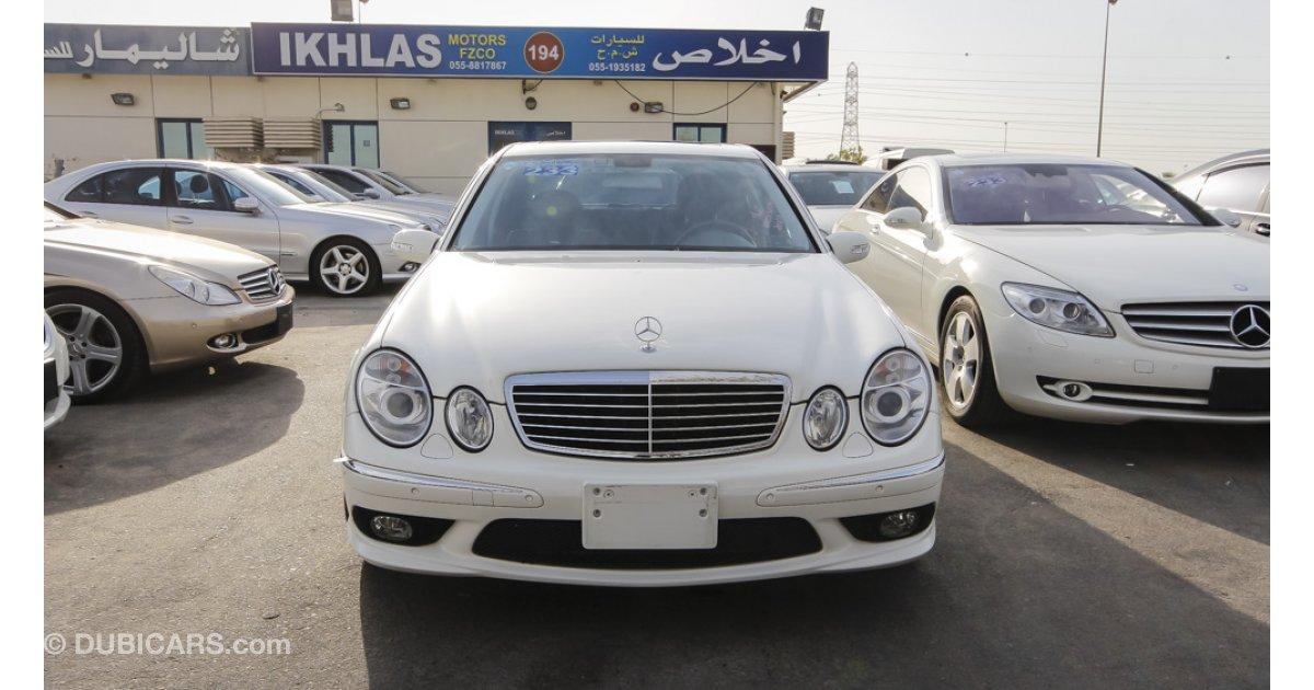 Mercedes benz e 55 amg v8 kompressor for sale aed 56 000 for Mercedes benz kompressor for sale