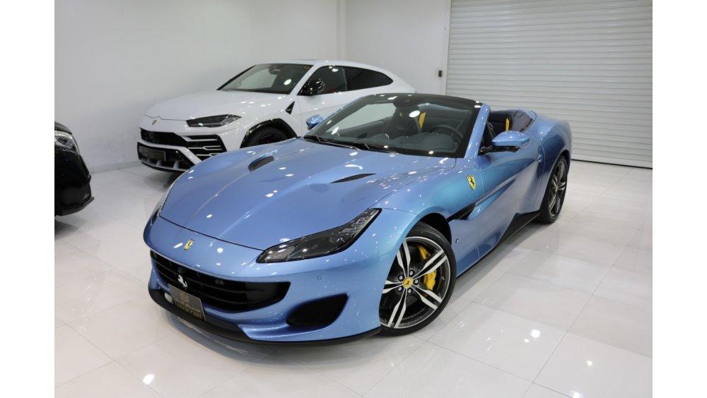 Ferrari Portofino 2020 Brand New Warranty N Service Available Gcc Specs Special Color For Sale Aed 899 000 Blue 2020
