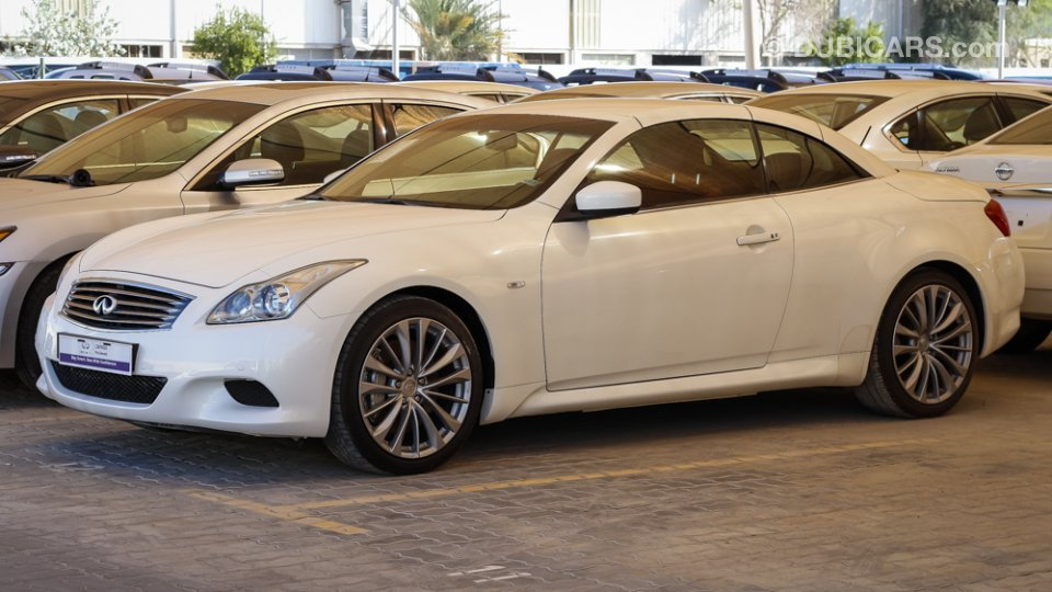 Infiniti g37 for sale aed 96 900 white 2012 - Infiniti g37 red interior for sale ...