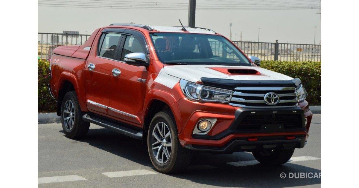 Toyota Hilux Revo For Sale Orange 2017