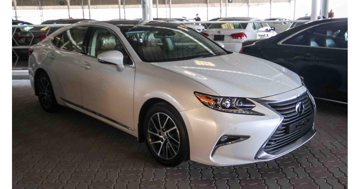 Lexus ES 350 For Sale AED 132000 White 2016