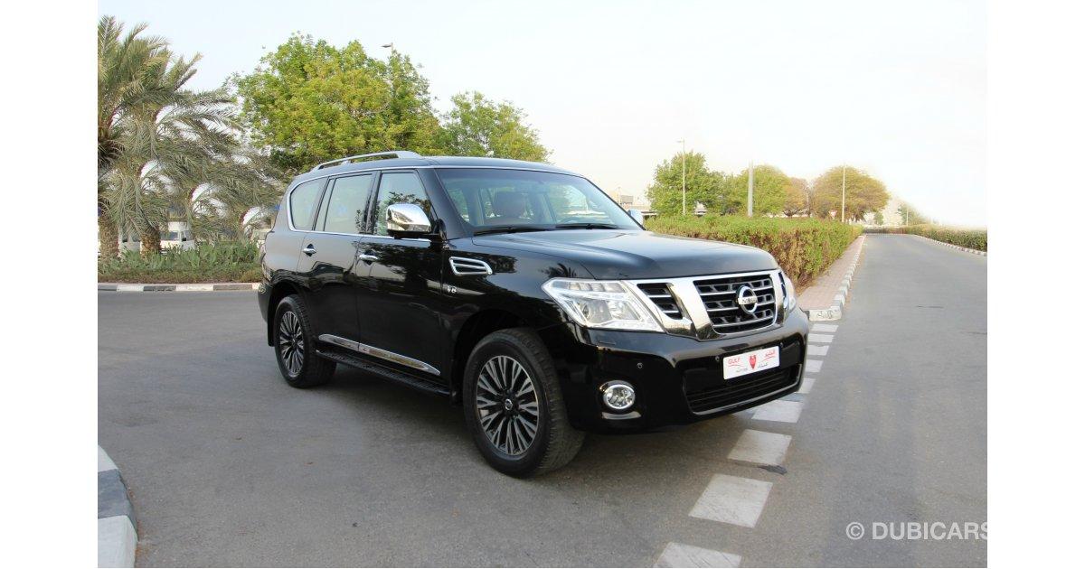 Nissan Patrol SE 320HP V8 For Sale: AED 175,000. Black, 2015