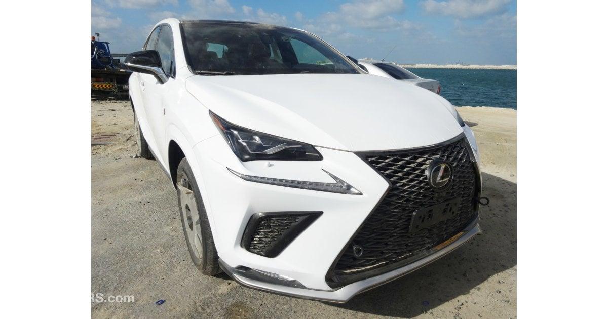 Lexus Nx 300 F Sport 2 0l For Sale Aed 170 000 White 2018