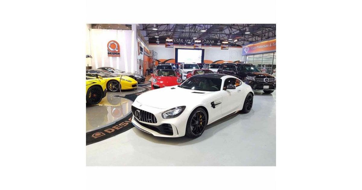 Mercedes benz amg gt r special order carbon fiber gcc for Mercedes benz special order