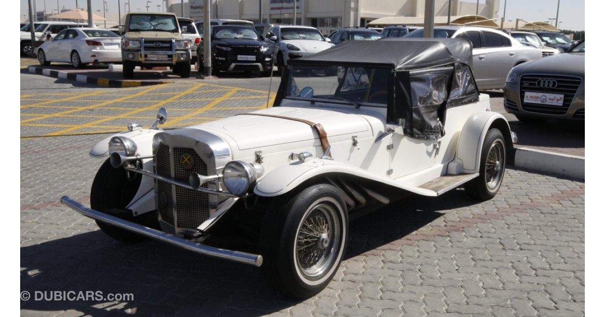 Mercedes Benz Gazelle Kit Car For Sale Aed 56 000 White