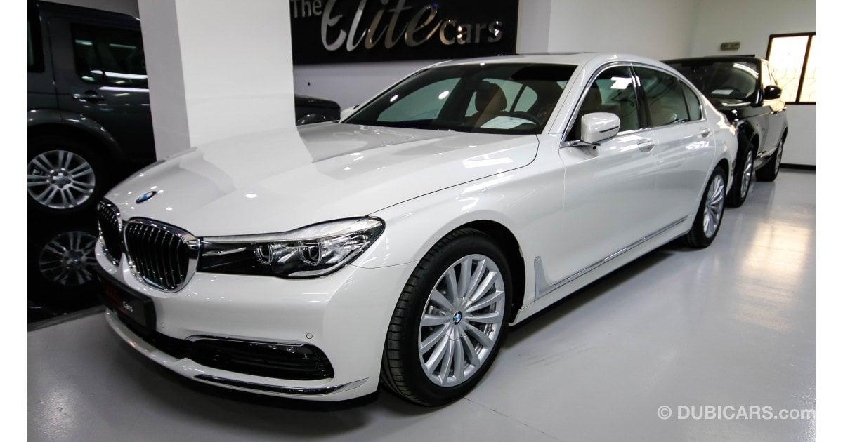 BMW 730 Li for sale: AED 288,000. White, 2017