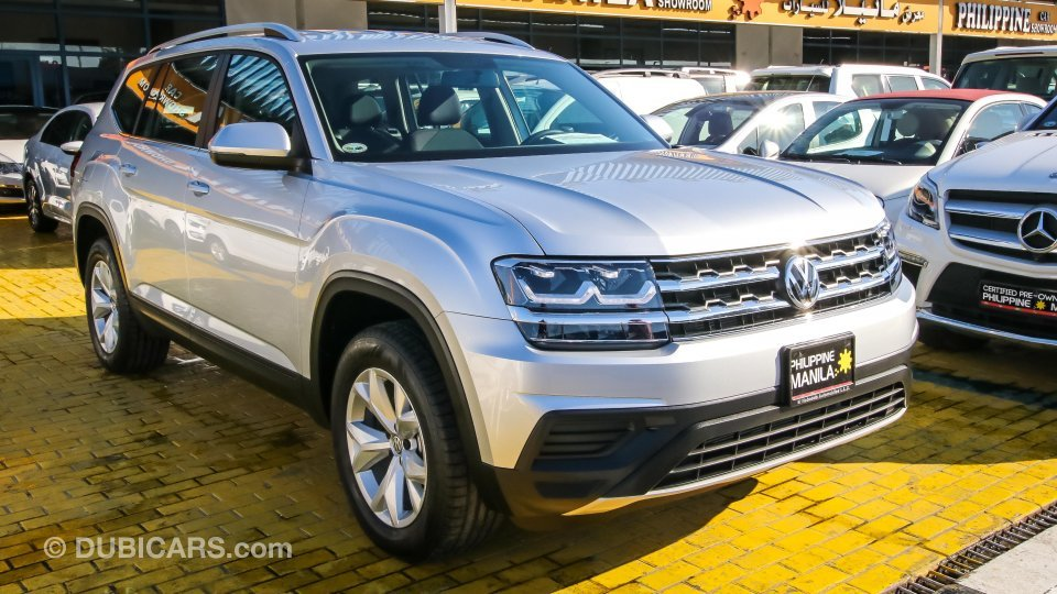 Volkswagen Atlas Teramont 4 Motion for sale: AED 129,500. Grey/Silver, 2018