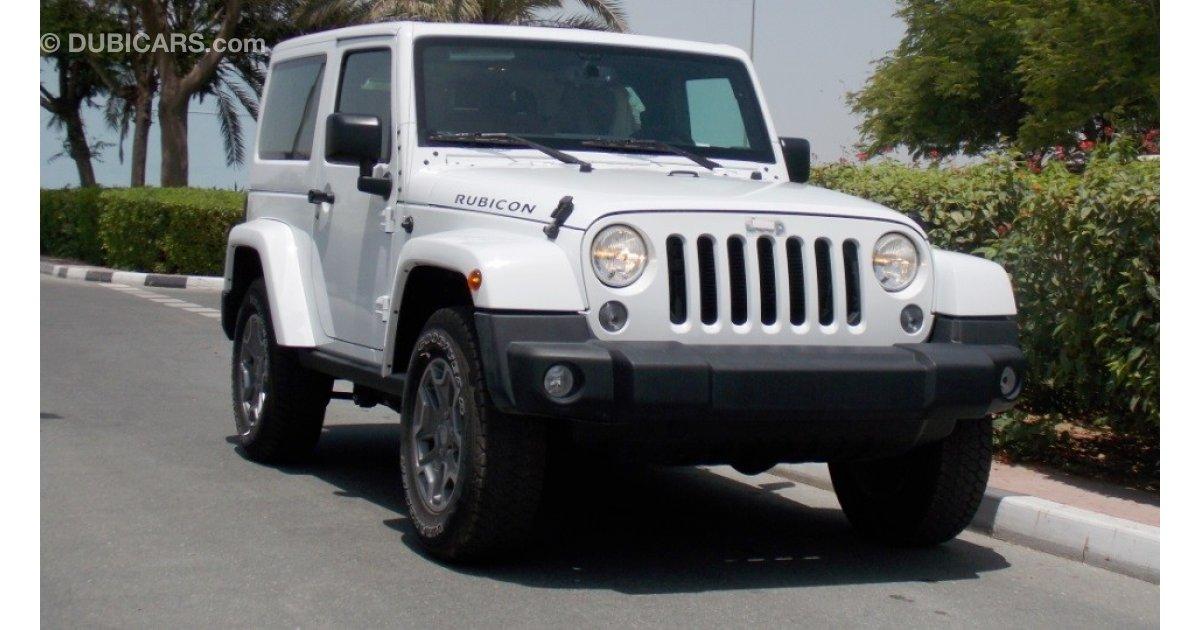 jeep wrangler brand new 2016 jeep wrangler rubicon gcc 3yrs 60000km wnty at the dealer for sale. Black Bedroom Furniture Sets. Home Design Ideas