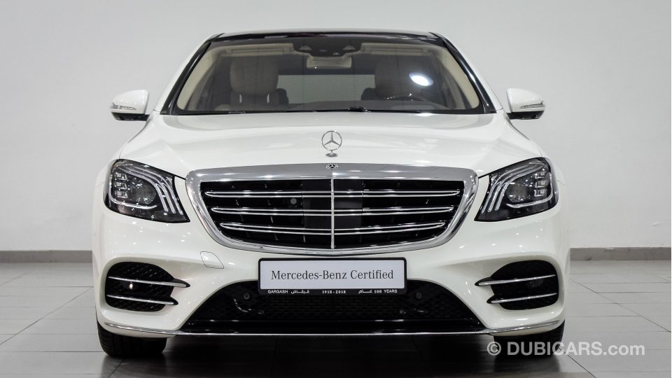 Mercedes Benz S 560 4matic For Sale Aed 532 350 White 2018