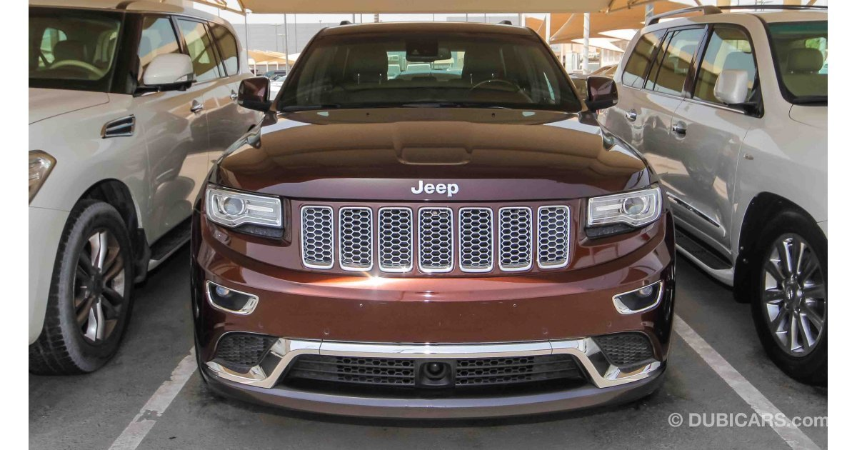 jeep grand cherokee summit 4x4 for sale aed 108 000. Black Bedroom Furniture Sets. Home Design Ideas